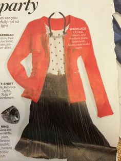 """Your look instant Style """"Office Party"""" InStyle Magazine December 2021"""