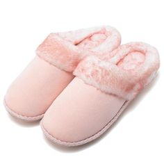 80291257a Women Snow Fur Warm Home Slippers Loafers Casual Shoes
