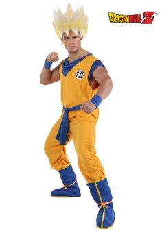 Adult Super Saiyan Goku Costume