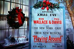 White Christmas: my favorite Christmas movie!