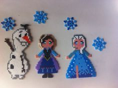 Frozen hama beads by Amorianca