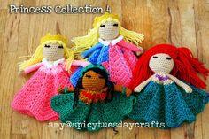 Disney Princess Lovey Blanket Crochet Ideas | The WHOot