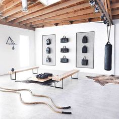 23 Best Home Gym Room Ideas For Healthy Lifestyle gym room ideas gym room at home gym room decor gym room design gym room at home small spaces gym room ideas small gym room ideas diy gym room ideas interior design gym room ideas small Home Gym Set, Dream Home Gym, Gym Room At Home, Home Gym Decor, Best Home Gym, Home Gym Garage, Basement Gym, Basement Kitchen, Basement Remodeling