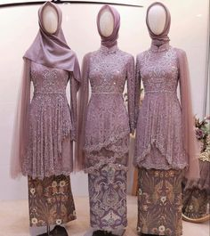 Kebaya Modern Hijab, Model Kebaya Modern, Kebaya Hijab, Kebaya Dress, Kebaya Muslim, Kebaya Wedding, Muslimah Wedding Dress, Muslim Fashion, Hijab Fashion