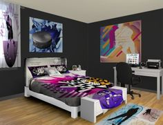 1000 images about hockey bedroom on pinterest hockey for Hockey bedroom ideas