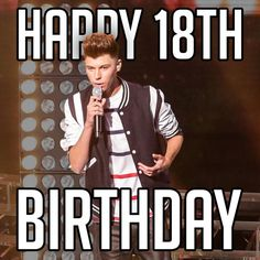 MEGA Happy 18th Birthday wishes to 1/8 of Stereo Kicks...@itsjamesgraham!