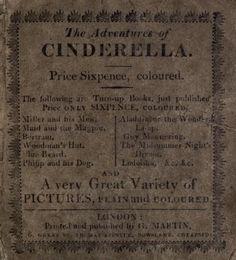 The adventures of Cinderella