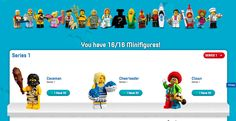 My Collection - Lego Minifig Collection Tracker Check out Lego's own minifigure collection tool here Lego.com My Collection. If you obsessively hoard minifigs from the Lego movies or the super popular polybag series this is the only tool you need to help you keep track and complete your collection. …