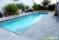 plage de piscine composite style bord de mer