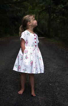 With this sewing pattern and tutorial you will be able to create a versatile Kauri Dress, with classic and clean style lines and a professional finish. Childrens Sewing Patterns, Dress Sewing Patterns, Girls Dresses Sewing, The Dress, Different Styles, Kids Outfits, Summer Dresses, Baby Dresses, Vintage Floral