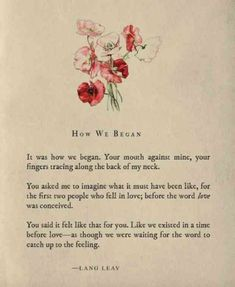 "20 Lang Leav Instagram Poems That Redefine The Word ""Love"""