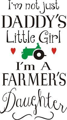 #scrappinalong #farmersdaughter #daddyslittlegirl #stencil #stencils #craft #crafts #DIY #doityourself #template #templates #signs #stencilsigns #imafarmersdaughter #imnotjustdadyslittlegirl #tractor #greentractor