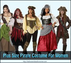 Are You looking to find a Plus Size Pirate Costume For Women? http://halloweenideasforwomen.com/plus-size-pirate-costume-for-women/
