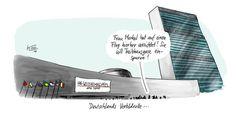 Karikaturen-Galerie: Neues von Nessi - Karikatur - Mediacenter - Tagesspiegel