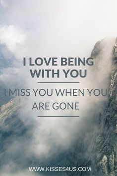 I Love Being With You and Kissing You. Kissing Quotes for your loved one. Romantic Date Night Ideas, Romantic Dates, Romantic Love Quotes, Romantic Kisses, Love Quotes For Boyfriend, Quotes For Him, Nice Quotes, Inspiring Quotes, Ernest Hemingway