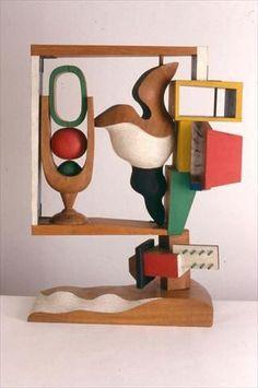 Le Corbusier Nature morte, 1957 Polychromed wood Dimensions : H : m x L : m x l : m Signed and dated JS 1 / 5 on the base, executed in May 1957 Sculpture FLC 19 Paris. Modern Art, Contemporary Art, Wassily Kandinsky, Assemblage Art, Art Graphique, Land Art, Art Object, Art Design, Art Plastique