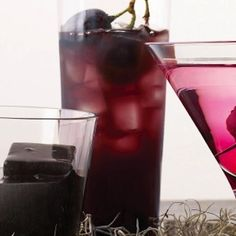 Spiced (and Spiked) Concord Grape Punch…
