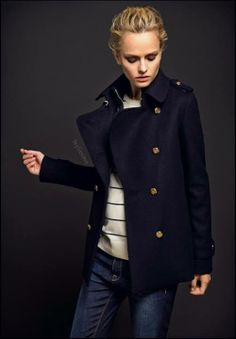 The Perfect Pea coat
