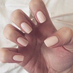 CND Shellac Naked Naiveté A peach-pink based opaque colour. Gorgeous Nails, Pretty Nails, Nude Nails, Acrylic Nails, Hair And Nails, My Nails, Oval Nails, Shellac Nail Colors, Vernis Semi Permanent