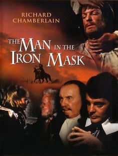 The Man in the Iron Mask [Internacional] [DVD] Really Good Movies, Love Movie, Great Movies, Movie Tv, Richard Chamberlain, Mike Newell, Sherlock Holmes Stories, The Scarlet Pimpernel, Dvd