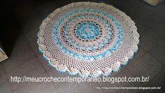 Meu Crochê Contemporâneo: Tapete Impressionante