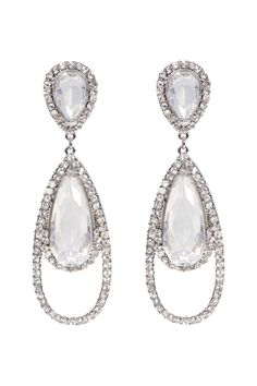 Haute Couture Crystal Earrings