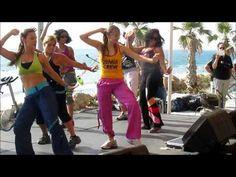 Zumba Dance, Slide! Song - Fitness with Natasha
