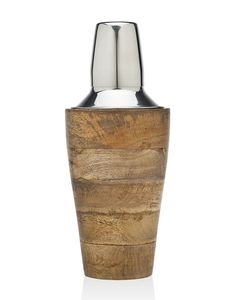 Wood Cocktail Shaker