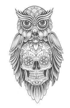 PapiRouge - Tattoo Zeichnungen Mehr