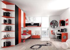 Sport Motors bedrooms theme from Antonio Lanzillo