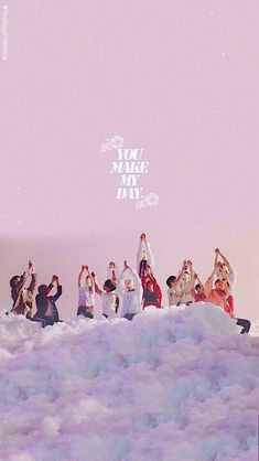 Seventeen♥you make me day Going Seventeen, Seventeen Debut, K Pop, Hip Hop, Kpop Backgrounds, Carat Seventeen, Jeonghan Seventeen, Won Woo, K Wallpaper