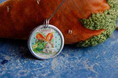 Carrots  & Rabbits. $14.00, via Etsy.