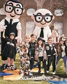 Dolce&Gabbana FW18 Children's Advertising Campaign. #DGFamily #DGCampaign #DGFW18 #DGBambino #MiniMe via DOLCE & GABBANA OFFICIAL INSTAGRAM - Celebrity Fashion Haute Couture Advertising Culture Beauty Editorial Photography Magazine Covers Supermodels Runway Models