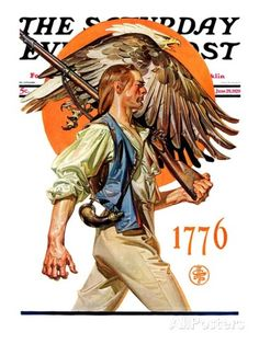 The Saturday Evening Post - June 1929 cover illustration by Norman Rockwell Vintage Posters, Vintage Art, Jc Leyendecker, Anime Sensual, Graphisches Design, Saturday Evening Post, American Illustration, Norman Rockwell, Art Graphique
