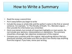 Summary Essay Example Awesome How to Write Summary Of An Article Summary Writing, Article Writing, Writing Guide, Essay Prompts, Essay Topics, Academic Writing, Writing Skills, Teaching Writing, Problem Solution Essay