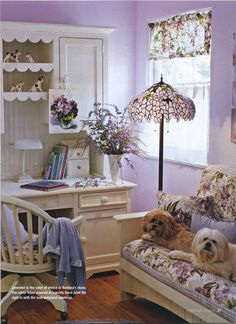 Decorating Blogs Flea Market Chic   cottage style magazine photos   New home decoration ideas for 2012