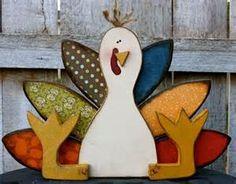 Turkey   Fall wood crafts