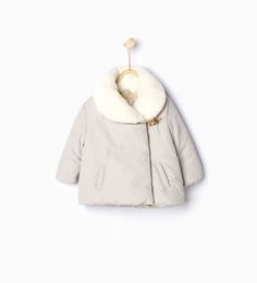 Double breasted quilted coat-Coats-Baby girl-Baby | 3 months - 3 years-KIDS | ZARA United States