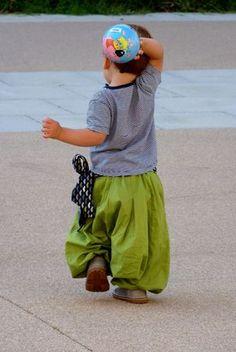 Sarouel ANKAA, Grains de Couture pour Enfants, Ivanne SOUFFLET, by Tiens et si je...