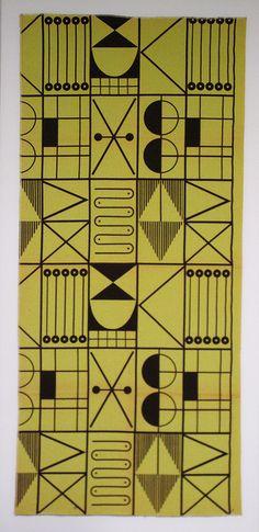 Barney Reid; Textile Design for Reidart, c1951.