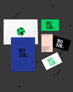 NO SIR GRAPHIC PROFILE - No Sir