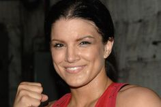 STUDIO CITY, CA - MAY 19:  MMA fighter Gina Carano attends CBS's 'Elite XC Saturday Night Fights' Press Conference at CBS Radford Studios on May 19, 2008 in Studio City, California.  (Photo by Stephen Shugerman/Getty Images)