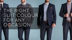 The right suit colour for any occasion will see you through any event you might have, from a business meeting to a wedding to a casual weekend look. Prom Dresses, Wedding Dresses, Knit Shirt, Golf Shirts, Black Tie, Button Up Shirts, Long Sleeve Shirts, Party Dress, Swimsuits
