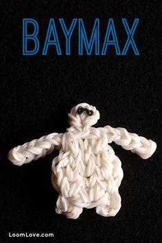 How to Make a |Rainbow Loom Baymax Figure