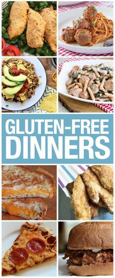 Gluten free dinners that your family will LOVE!