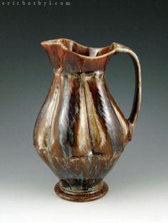 Pitchers « ericbotbyl Pottery Ideas, Glass, Pots, Drinkware, Jars, Pottery, Flower Planters, Glas