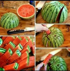 Best way to cut a watermelon