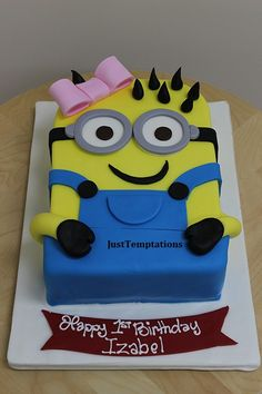 Custom Birthday Cake Cakes and cupcakes Pinterest Birthday