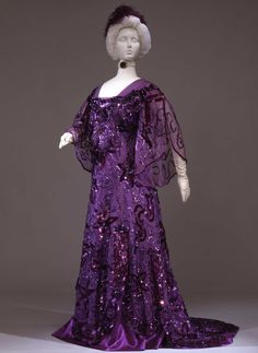 Callot Soeurs evening dress, 1907-10 From the Galleria del Costume di Palazzo Pitti via Europeana Fashion