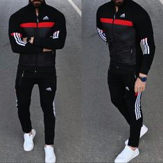 Adidas Outfit, Gym Wear, Sport Wear, Workout Wear, Celebrity Pictures, Teen Fashion, Adidas Originals, Adidas Jacket, Joggers